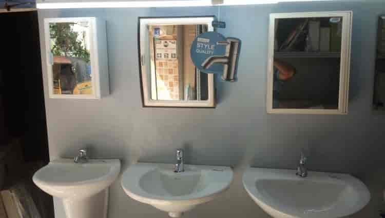 How to Frame a Bathroom Mirror  Momtastic