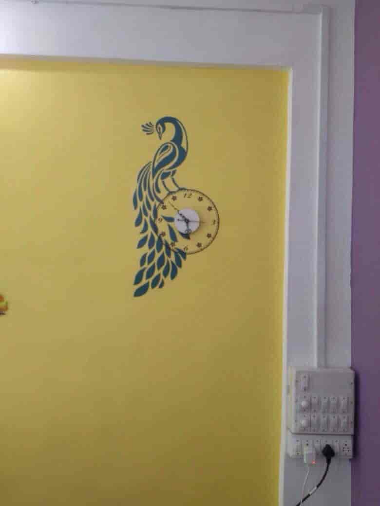 Magnificent Wall Decoration Stickers In Hyderabad Ideas - The Wall ...