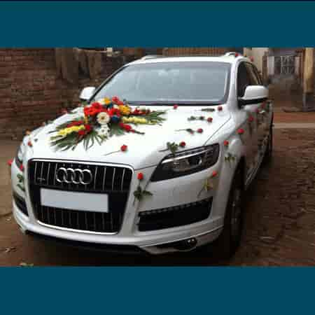 Wedding Car Decoration Photos Wilson Garden Bangalore Pictures