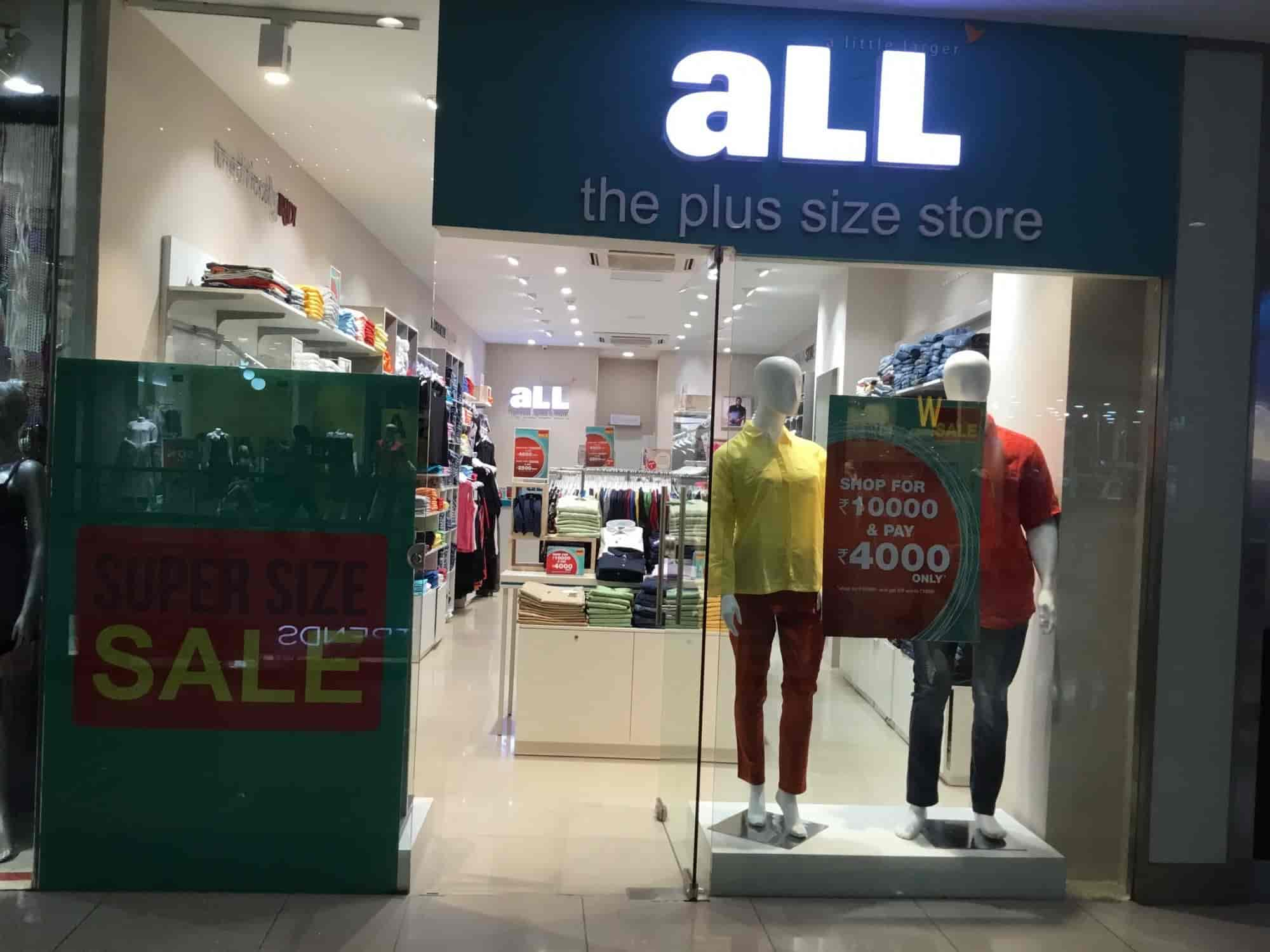 all the plus size store, m p nagar - readymade garment retailers