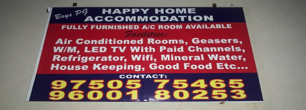 Happy homes pg mahindra world city hostel for boy students in happy homes pg 45 2 votes mahindra world city gumiabroncs Gallery