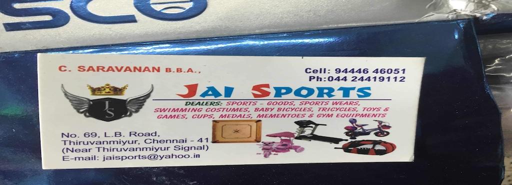 Jai sports thiruvanmiyur jay sports sports goods dealers in jai sports solutioingenieria Choice Image