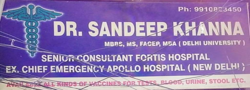 b8c98ab0d1a Dr. Sandeep Khanna Clinic - General Physician Doctors - Book ...