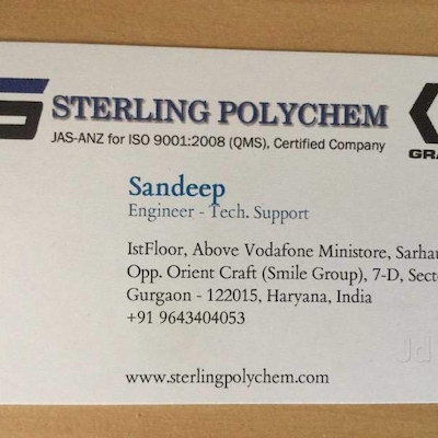 Sterling Polychem, Gurgaon Sector 18 - Machinery Dealers in