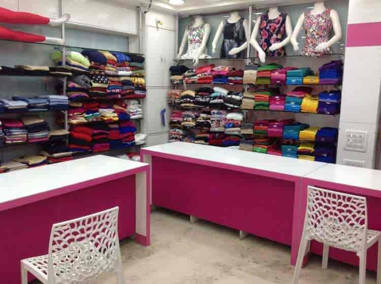 Inside View Of Garments Shop