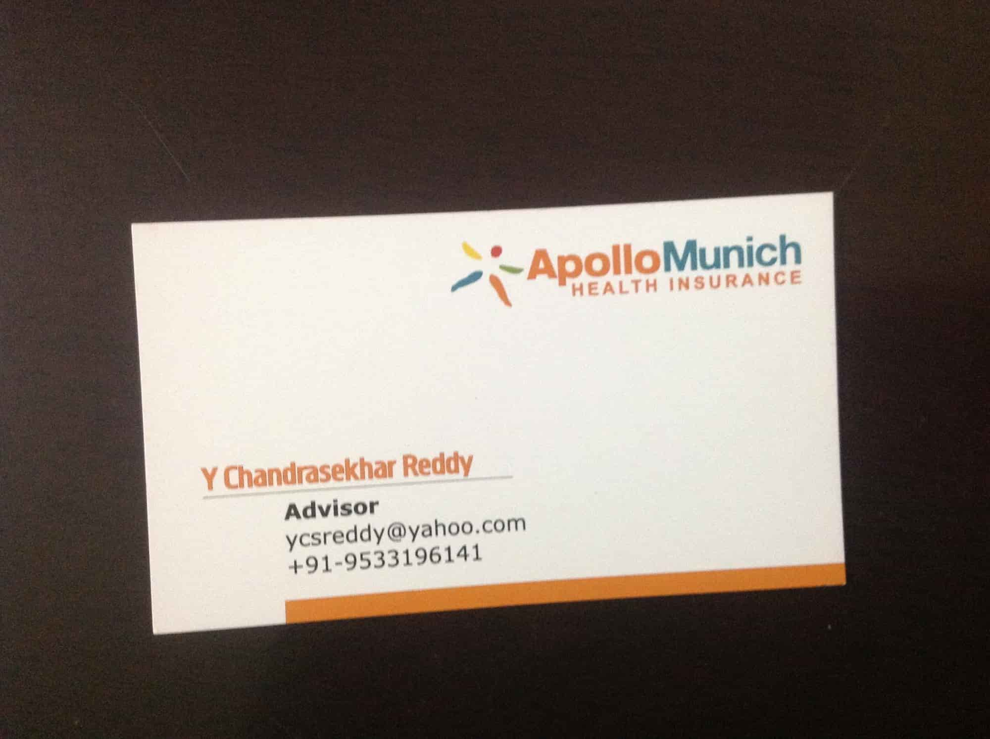 Apollo Munich Health Insurance Photos, Bagh Amberpet Amberpet ...