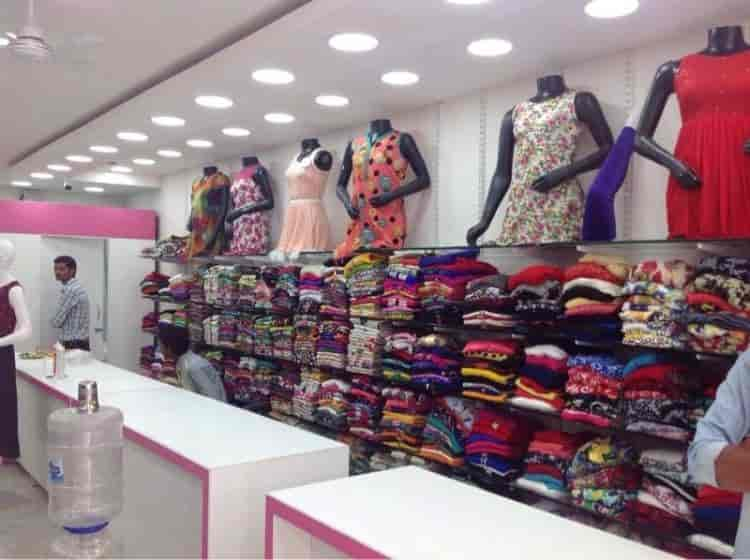 Inside View Of Garment Shop