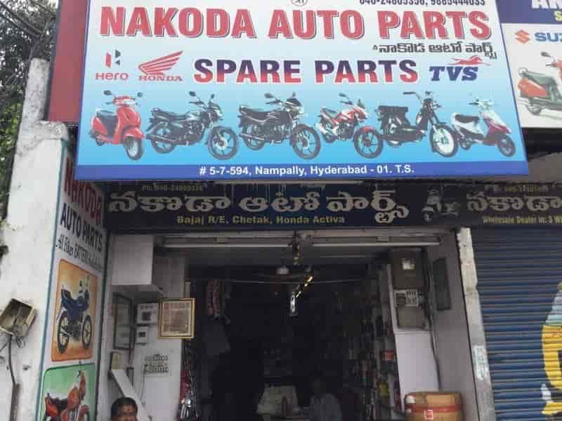 Nakoda Auto Parts Photos Nampally Hyderabad Pictures Images - Auto hona