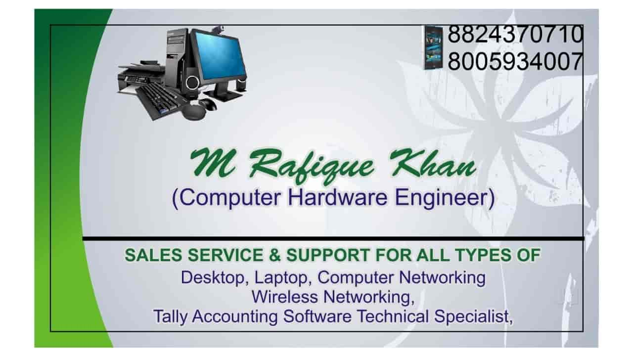computer service visiting card - Ecza.solinf.co