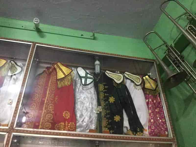 Inside View Of Wedding Band Shop