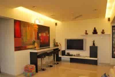 ... Living Room Interior Design   Miracle Design Photos, Kandivali West,  Mumbai   Interior Designers