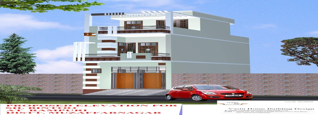 Vastu Home Building Design Muzaffar Nagar City Architects In