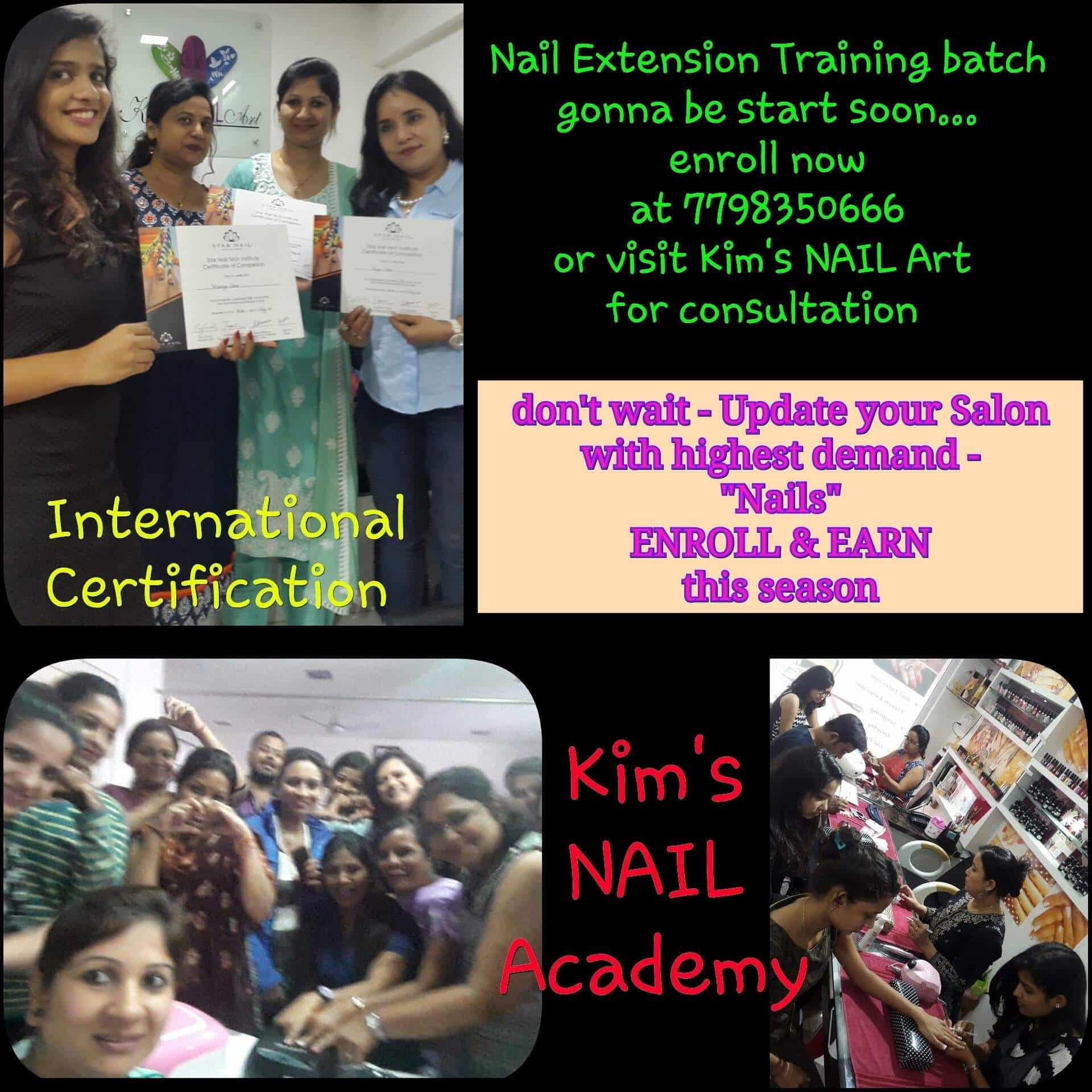 Kims Nail Art Nail Spa And Academy (Closed Down) Photos, Viman Nagar ...