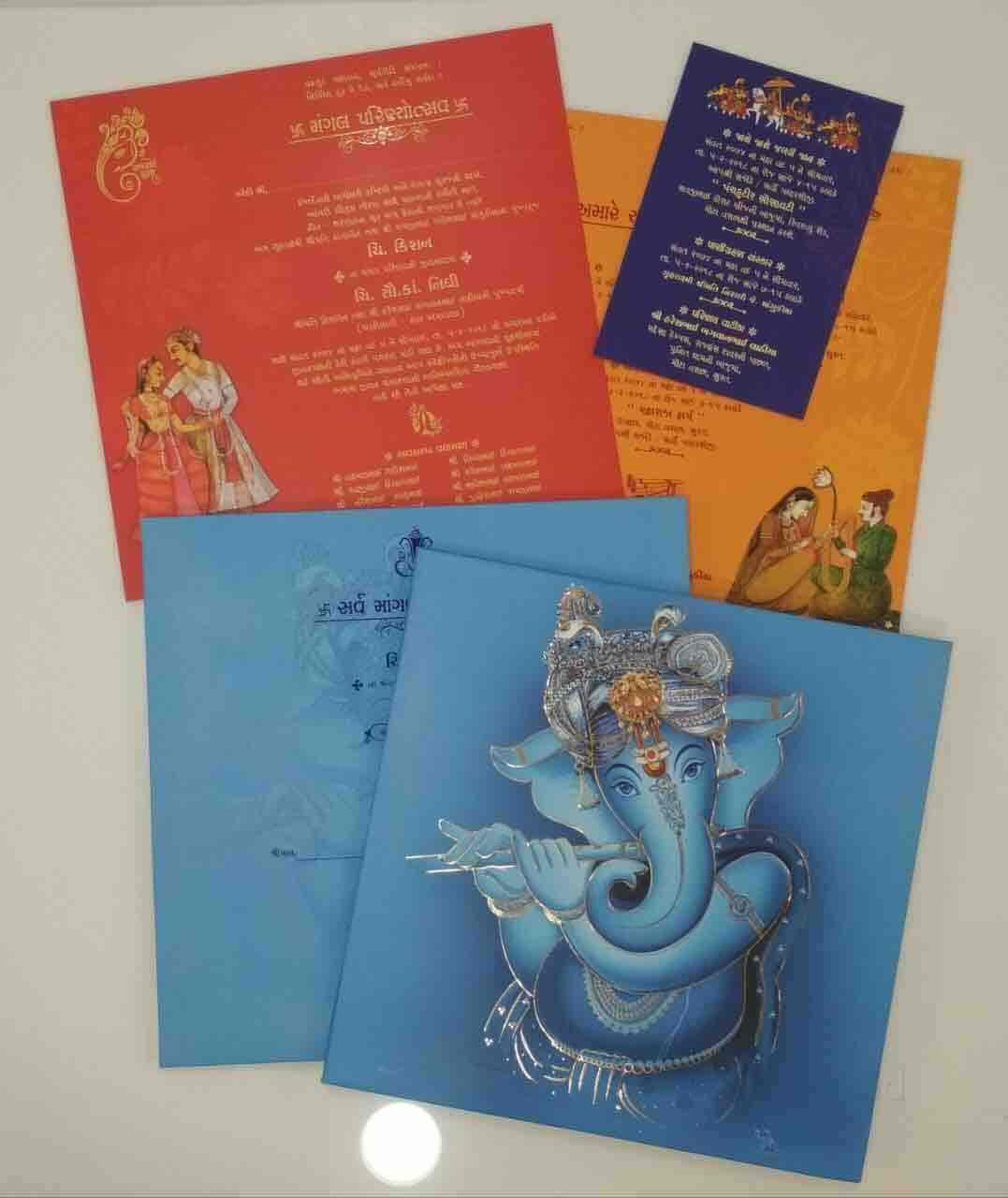 wedding cards in hyderabad general bazar%0A Shivam Agencies Exclusive Wedding Cards Shop Photos  Chauta Bazaar  Surat  Wedding  Card Printers