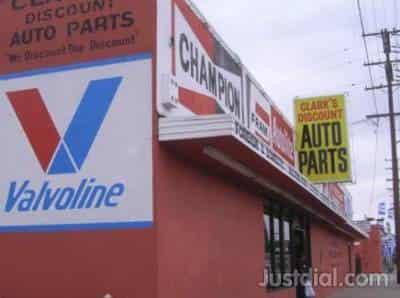 Clark'S Auto Parts >> Clark S Discount Auto Parts Near Lakewood Blvd Oak St Ca
